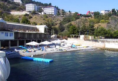 фото с веб-камеры на пляже Порто Маре