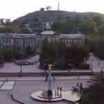 Веб-камера Керчи. Гора Митридат и площадь Ленина
