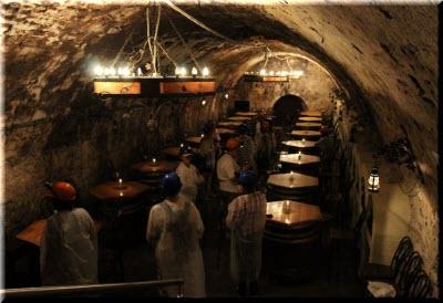 фото в погребке Дома шампанских вин