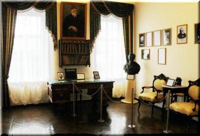 фото внутри дома-музея Голицына