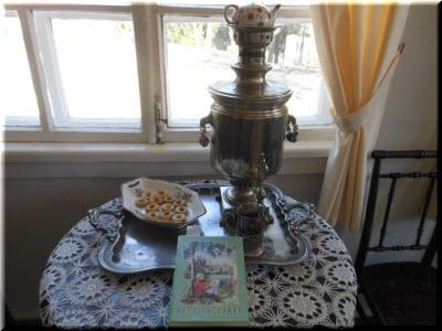 фото внутри дома-музея Шмелева