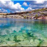 Озеро святого Климента в Инкермане (Севастополь)