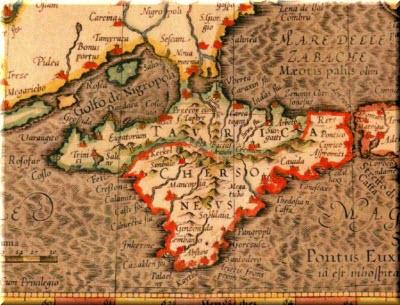 карта античного Крыма