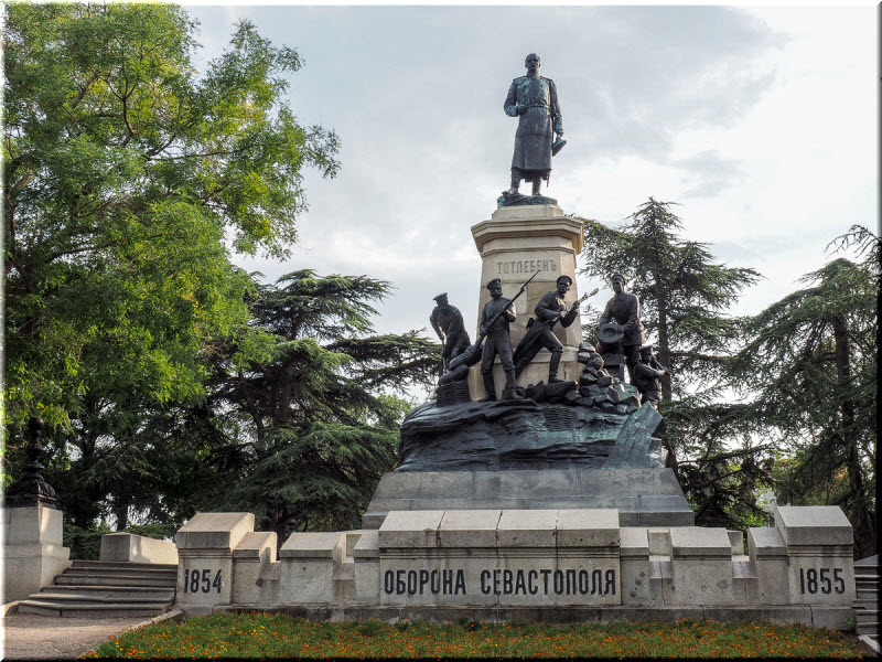 фото памятника Тотлебену