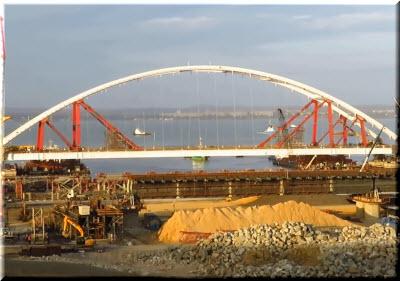 фото с видео про Крымский мост