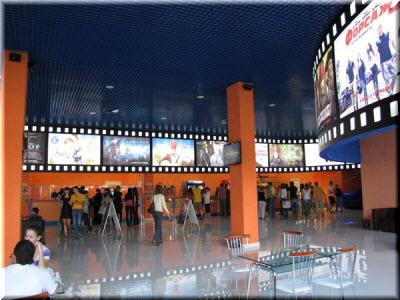кафе в кинотеатре Муссон
