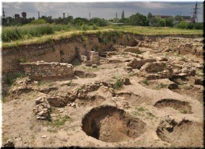 на раскопках Тиритаки