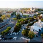 Огни севастопольской площади Ушакова