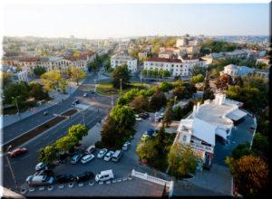 площадь Ушакова в Севастополе