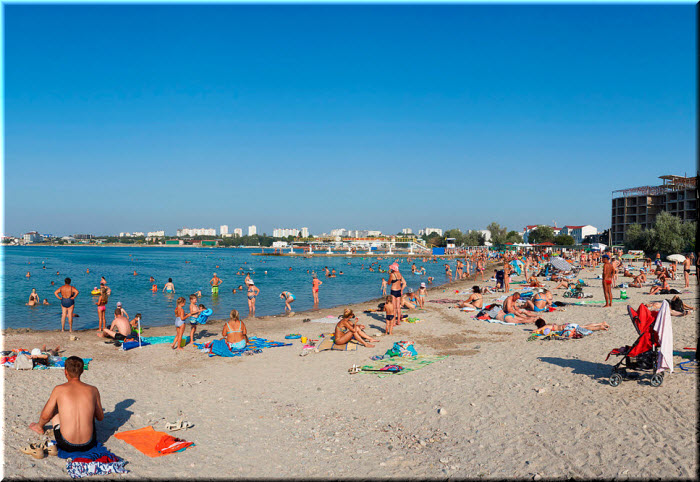 пляж Омега