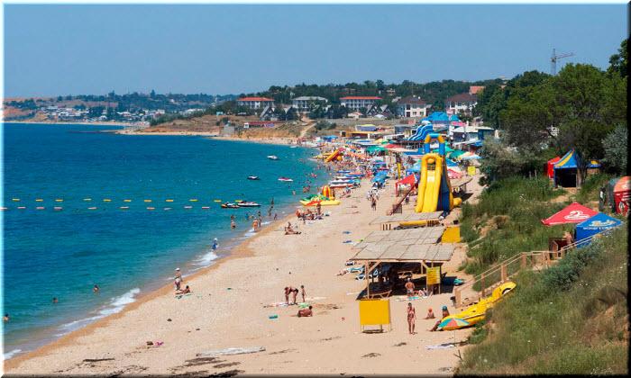 пляж Учкуевки