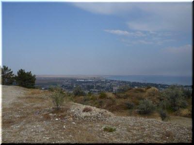 вид на Феодосию с Лысой горы