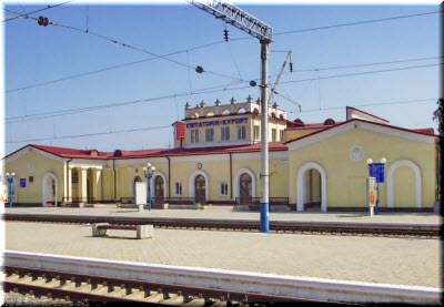 жд-вокзал Евпатории