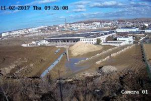 фото с веб-камеры Автоподходы к Крымскому мосту