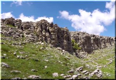 фото скал на Бабуган-яйле