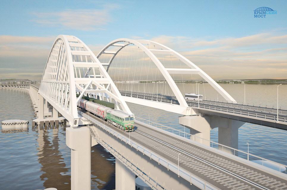 Как будет выглядеть мост в Крым