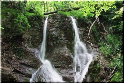 водопад Гейзер в Крыму