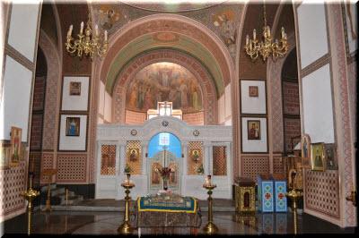 фото алтаря Покровской церкви