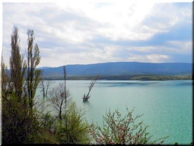 фото Белогорского водохранилища