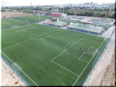 футбольное поле Арены-Крым
