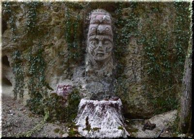 изваяние божетсва в Еды-Аскер