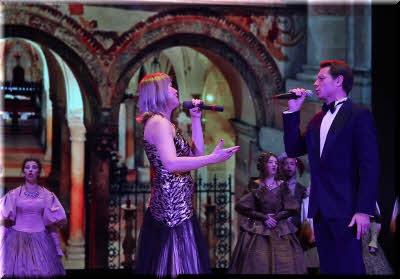 на сцене Крымской филармонии