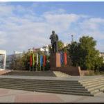 Площадь Ленина — самая центральная в городе Симферополь