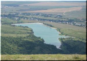Аянское водохранилище в Крыму