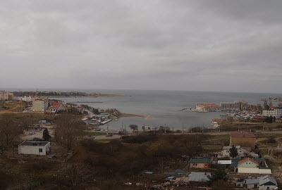 фото с веб-камеры у бухты Круглая