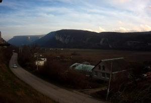 фото с веб-камеры в Бельбекской долине