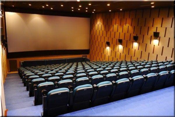 фото внутри кинотеатра Спартак