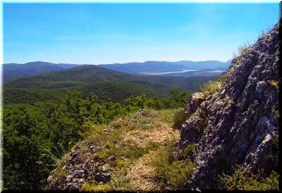 виды с горы Сандык-Кая