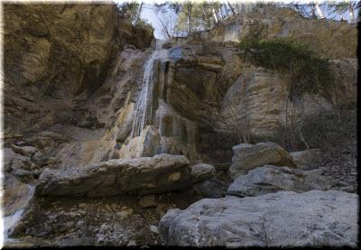 водопады ущелья Люка