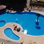 Онлайн камера у бассейна гостиницы «Украина Палас» в Евпатории
