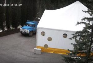 фото с камеры лагеря Озерный