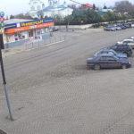 Веб-камера на площади Революции (Центральной) в Саках