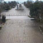 Онлайн камера на Центральной площади поселка Приморский