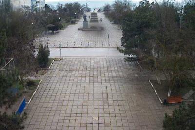 фото с камеры на площади ДК Приморского
