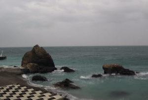 фото с камеры на пляже Крымского Бриза