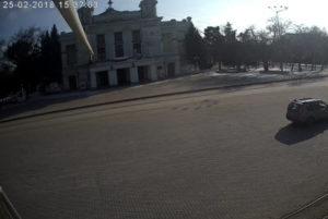 фото с камеры на Театральной площади Евпатории