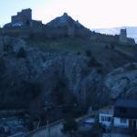 Веб-камера у Генуэзской крепости. Отель «Солдайя». Судак