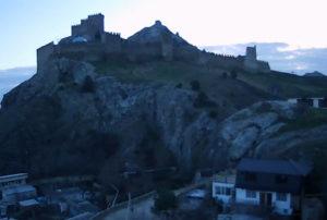 фото с камеры у Генуэзской крепости