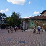 Веб-камера рядом с музеем Грина и панно Бригантина в Феодосии