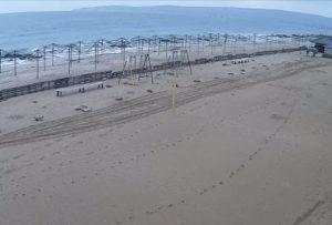фото с камеры у пляжа 117 в Феодосии