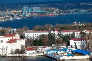 фото с камеры у центра в Севастополе
