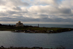 фото с камеры в Карантинной бухте