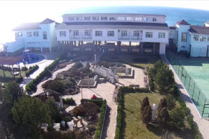 фото с камеры в санатории Юрмино в Саках
