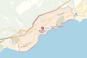 фото с карты Алупки