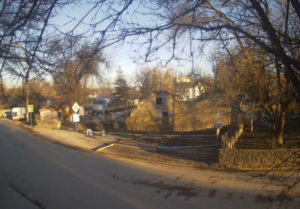 фото с веб-камеры у Каменного двора в Белогорске