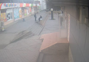 фото с веб-камеры у магазина Ткани в Судаке